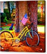 Patriotic Ride Acrylic Print
