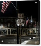 Patriotism In A Small Town Acrylic Print