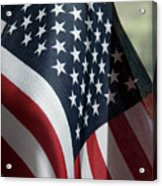 Patriotism Acrylic Print by Jerry McElroy
