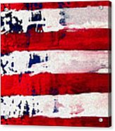 Patriot's Theme Acrylic Print