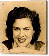 Patsy Cline Acrylic Print