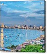 Pattaya Bay Acrylic Print