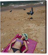 Pattaya Beach Acrylic Print