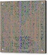 Pattern 102 Acrylic Print