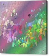 Pattern 121 Acrylic Print