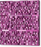 Pattern 95 Acrylic Print