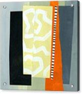 Pattern Grid # 16 Acrylic Print