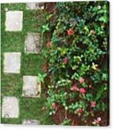 Pattern Work Acrylic Print