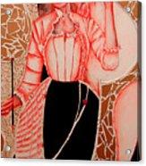 Patterna Rebecca         Acrylic Print by Rebecca Tacosa Gray