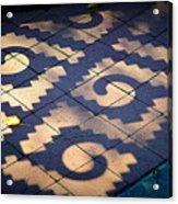 Patterns Azteca Acrylic Print