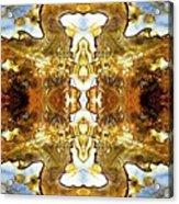 Patterns In Stone - 146b Acrylic Print