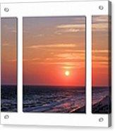 Patterns Of Sunset Acrylic Print