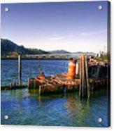 Patterson Bridge Oregon Acrylic Print