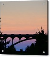 Patterson Bridge Sunrise Acrylic Print