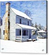 Patterson House Carnifax Ferry Battlefield Acrylic Print