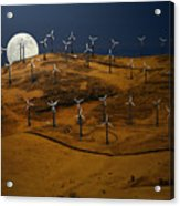 Patterson Pass Wind Farm Acrylic Print