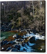 Patuxent River Trout Fisher Acrylic Print