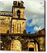 Patzcuaro Bell Tower Acrylic Print