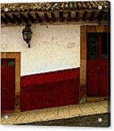 Patzcuaro Streetscape 3 Acrylic Print