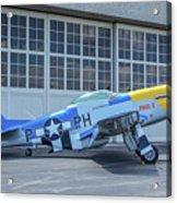 Paul 1 P-51d Mustang Acrylic Print