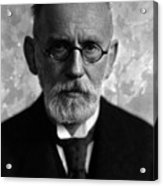 Paul Ehrlich, German Immunologist Acrylic Print by Science Source