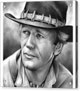 Paul Hogan Acrylic Print