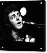 Paul Mccartney Wings 1973 Acrylic Print