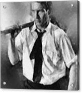 Paul Newman By John Springfield Acrylic Print