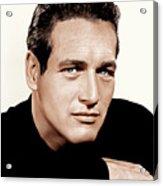 Paul Newman, Ca. 1963 Acrylic Print by Everett