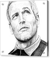 Paul Newman  Acrylic Print