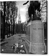 Paul Revere Acrylic Print by Andrew Kubica