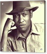 Paul Robeson, Vintage Actor And Singer Acrylic Print