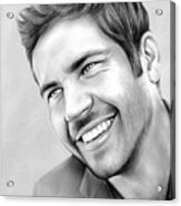 Paul Walker Acrylic Print