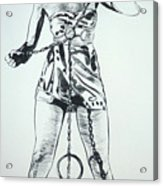 Paula Captive Wild Woman Acrylic Print