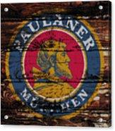 Paulaner Beer Sign  Acrylic Print