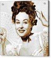 Paulette Goddard, Hollywood Legend Acrylic Print