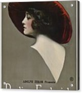Pauline Frederick In Paid In Full 1919 Acrylic Print