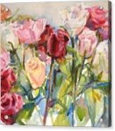 Paul's Roses Acrylic Print