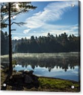 Pauper Lake Morning Acrylic Print