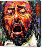 Pavarotti Acrylic Print