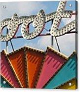 Pavilion Skooter Acrylic Print