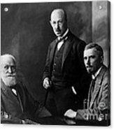 Pavlov, Anrep, Babkin Acrylic Print