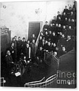 Pavlov In Lecture Theater, 1904 Acrylic Print