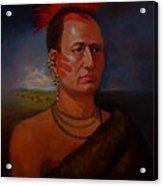 Pawnee Chief Around 1820 Acrylic Print