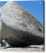 Pay The Stone - Bald Rock 2016 Acrylic Print by James Warren