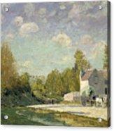 Paysage Acrylic Print by Alfred Sisley