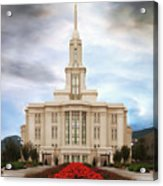 Payson Temple #3 Acrylic Print