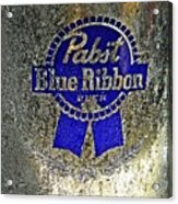 Pbr  Bucket O Beer  Acrylic Print by Chris Berry