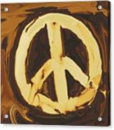 Peace 2 Acrylic Print
