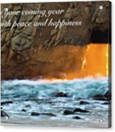 Peace And Happiness Acrylic Print